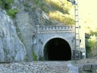 Bank-Tunnel, Südportal